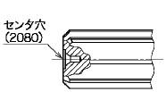 図7(センタ穴)